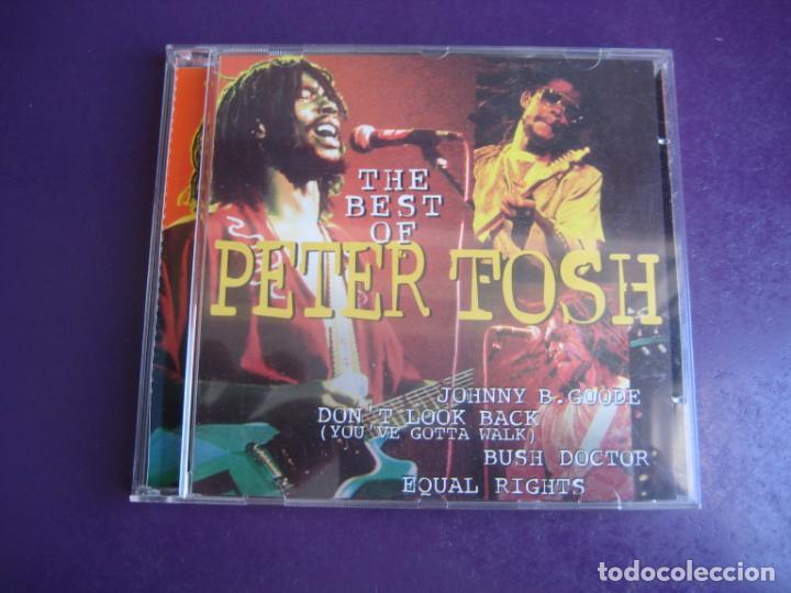 THE BEST OF PETER TOSH - CD DISKY 1996 - REGGAE - BOB MARLEY WAILERS - SIN APENAS USO (Música - CD's Reggae)