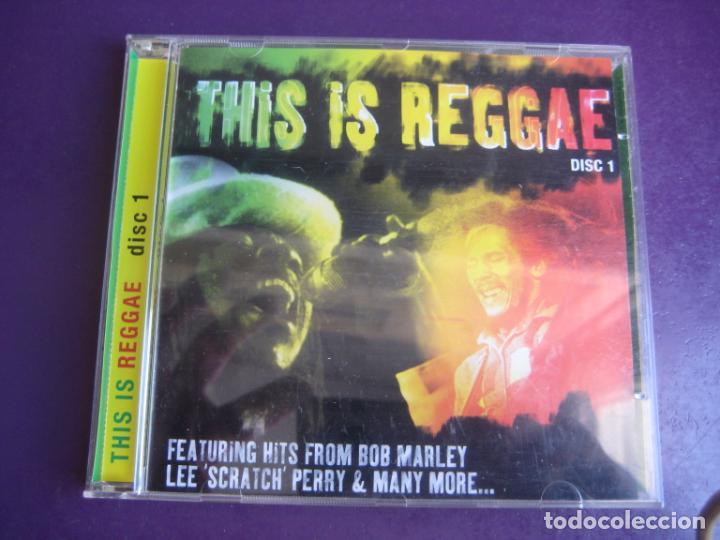 THIS IS REGGAE VOL 1 - CD RECOP 18 TEMAS - BOB MARLEY - LEE PERRY - JAH GREEN - SIN APENAS USO (Música - CD's Reggae)