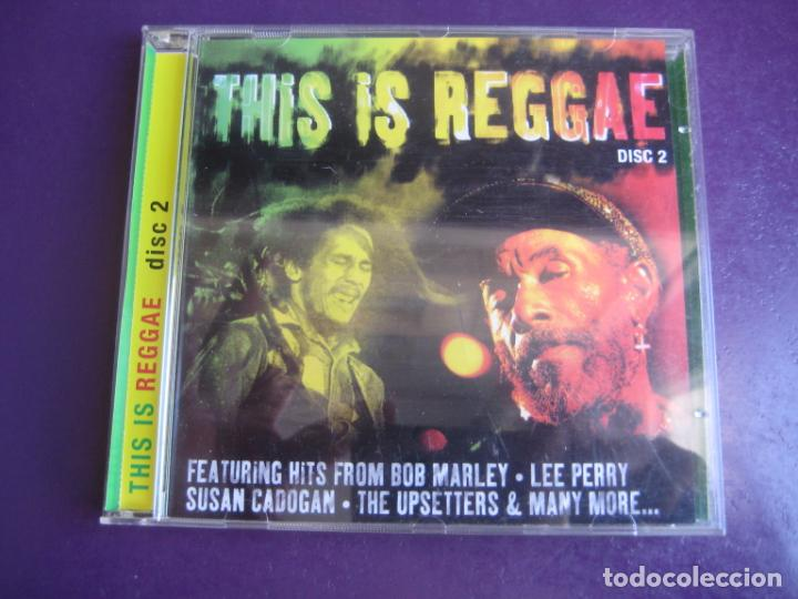 THIS IS REGGAE VOL 2 - CD RECOP 18 TEMAS - BOB MARLEY - LEE PERRY - UPSETTERS - SIN APENAS USO (Música - CD's Reggae)