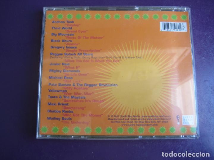 CDs de Música: REGGAE SPLASH ALL STARS - CD RECOP 17 TEMAS - BLACK UHURU - TOOTS MAYTALS - WAILING SOULS - ETC - Foto 2 - 253868930