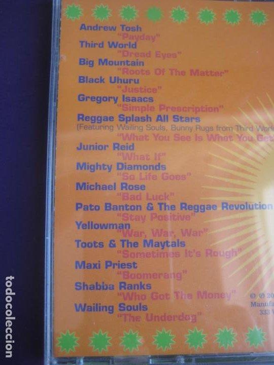 CDs de Música: REGGAE SPLASH ALL STARS - CD RECOP 17 TEMAS - BLACK UHURU - TOOTS MAYTALS - WAILING SOULS - ETC - Foto 3 - 253868930
