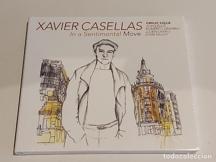 XAVIER CASELLAS / IN A SENTIMENTAL MOVE / DIGIPACK-CD - FRENCH SOUND RECORDS / 10 TEMAS / PRECINTADO (Música - CD's Melódica )