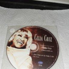CDs de Música: CELIA CRUZ. DOS DÍA EN LA VIDA. CD SINGLE PROMO. 1 TRACK.. Lote 253883960