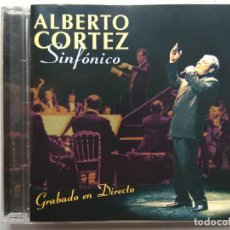CDs de Música: ALBERTO CORTEZ SINFÓNICO. CD FACTORÍA AUTOR SA00945. ESPAÑA 2004. ORQUESTA SINFÓNICA DE HOUSTON.. Lote 253890890