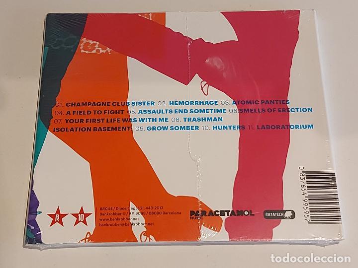 CDs de Música: SANJAYS / LABORATORIUM / DIGIPACK-CD - BANKROBBER-2012 / 11 TEMAS / PRECINTADO. - Foto 2 - 253896480