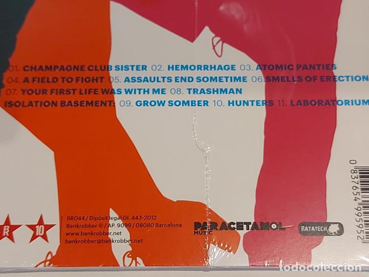 CDs de Música: SANJAYS / LABORATORIUM / DIGIPACK-CD - BANKROBBER-2012 / 11 TEMAS / PRECINTADO. - Foto 3 - 253896480