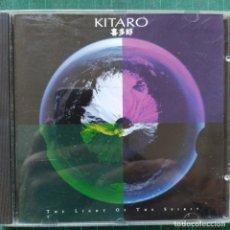 CDs de Música: KITARO - THE LIGHT OF THE SPIRIT (CD, ALBUM) (1987/EU). Lote 253911710