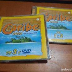 CDs de Música: CARIBE 2002. 3 CDS EN DOS CAJAS. NO CONTIENE EL DVD. SOLO TRES CDS. BUEN ESTADO. Lote 253932215