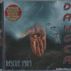 CDs de Música: DANGER CD RESCUE 1989 ,SPANISH HEAVY 80S-TOKIO-SANGRE AZUL-JUPITER-HIROSHIMA-91 SUITE-SANGRE AZUL. Lote 253942525