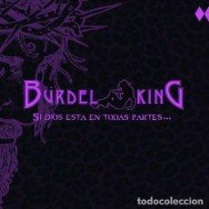 CDs de Música: BURDEL KING CD SI DIOS..1ST,SPANISH HEAVY 2016(TXUS MAGO DE OZ)-SARATOGA-SAUROM-AVALANCH-AYRA. Lote 253943905