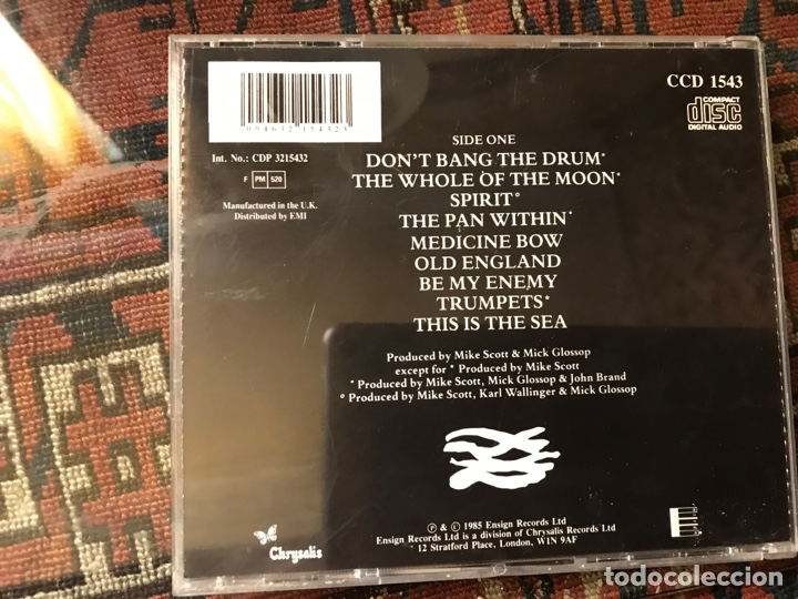CDs de Música: The Waterboys. This is The sea - Foto 2 - 253944525