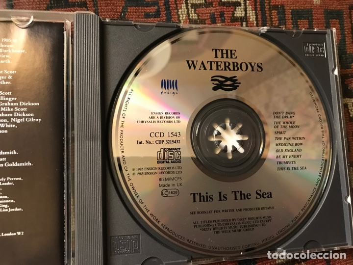 CDs de Música: The Waterboys. This is The sea - Foto 3 - 253944525