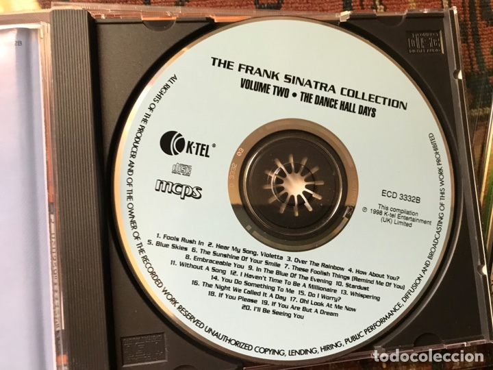 CDs de Música: The Frank Sinatra Collection. A tribute to a legend. Vol. 2, 3, y 4. - Foto 3 - 253944550
