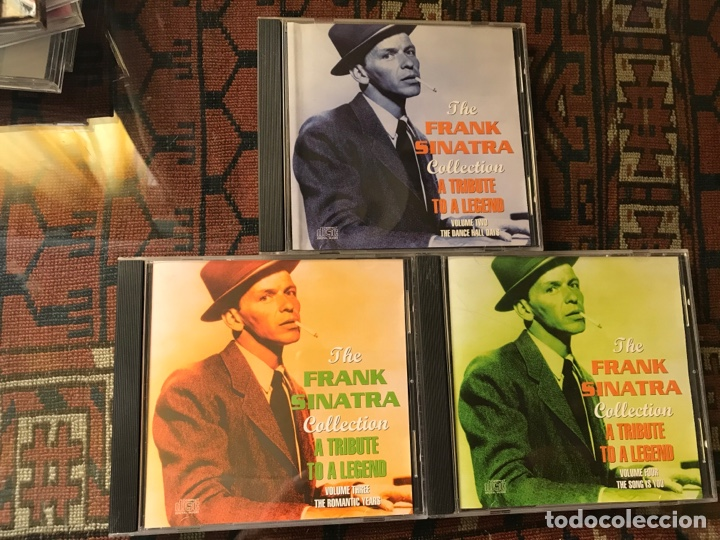THE FRANK SINATRA COLLECTION. A TRIBUTE TO A LEGEND. VOL. 2, 3, Y 4. (Música - CD's Otros Estilos)
