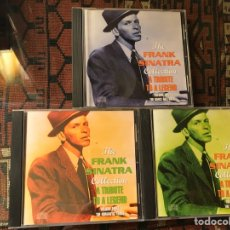 CDs de Música: THE FRANK SINATRA COLLECTION. A TRIBUTE TO A LEGEND. VOL. 2, 3, Y 4.. Lote 253944550
