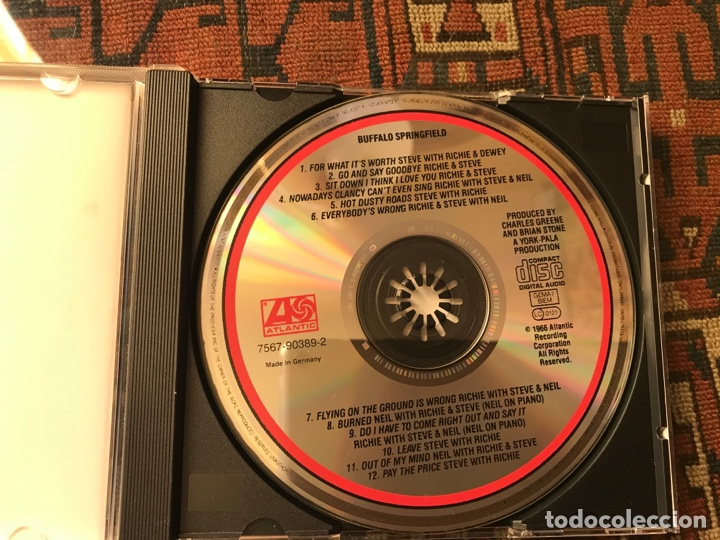 CDs de Música: Buffalo Springfield - Foto 3 - 253944590