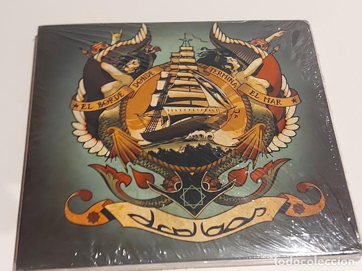 D'CALLAOS / EL BORDE DONDE TERMINA EL MAR / DIGIPACK-CD-AUTOEDICIÓN / 11 TEMAS / PRECINTADO. (Música - CD's Rock)