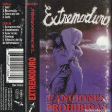 CDs de Música: CASSETE EXTREMODURO - CANCIONES PROHIBIDAS. Lote 253955975