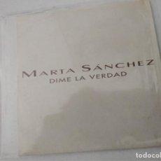 CDs de Musique: MARTA SÁNCHEZ – DIME LA VERDAD PROMO. Lote 253967530