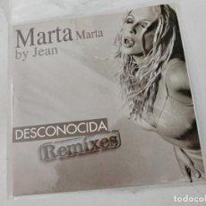 CDs de Musique: MARTA SANCHEZ DESCONOCIDA BY JEAN REMIXES - 4 TEMAS. Lote 253968215