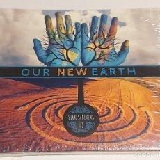 CDs de Música: SIRKIS/BIALAS IQ / OUR NEW EARTH / DIGIPACK-DOBLE CD / 16 TEMAS / PRECINTADO.. Lote 253989190