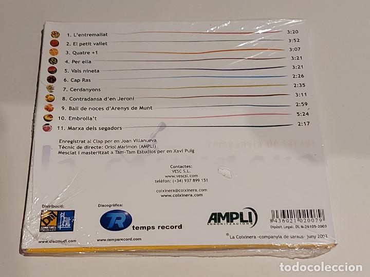 CDs de Música: LA COIXINERA / SARAU A PLAÇA / DIGIPACK-CD-DISCMEDI-2003 / 11 TEMAS / PRECINTADO. - Foto 2 - 253990885