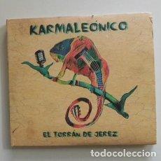 CDs de Música: KARMALEÓNICO EL TORRÁN DE JEREZ - CD MÚSICA FLAMENCO - TRAS MI VENTANA RUTINA CRUEL NOCHES SIN LUNA. Lote 254011285