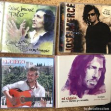 CDs de Música: LOTE DISCOS DE MÚSICA FLAMENCO CIGALA JOSE MERCE FALO RAFAEL JIMENEZ EL CIEGO. Lote 254038590