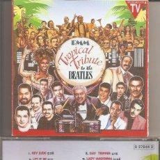 CDs de Musique: TROPICAL TRIBUTE TO THE BEATLES - VARIOS (CD, BAT DISCOS 1996). Lote 254047585