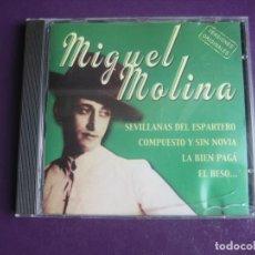 CDs de Música: MIGUEL MOLINA - CD 2001 RECREATIVOS INDEPENDIENTES - 12 TEMAS - LA BIEN PAGA ETC - COPLA CLASICA. Lote 254069855