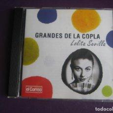 CDs de Música: GRANDES DE LA COPLA - LOLITA SEVILLA - CD RECOP 16 EXITOS CANCION ESPAÑOLA - COPLA -. Lote 254071485