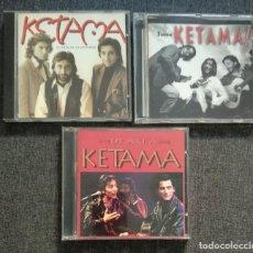 CDs de Música: LOTE CD - KETAMA: TOMA KETAMA (1999) + EL ARTE DE LO INVISIBLE (1993) + DE AKÍ A KETAMA (1995). Lote 254073695
