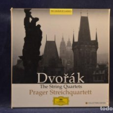 CDs de Música: ANTONÍN DVOŘÁK - PRAGER STREICHQUARTETT - THE STRING QUARTETS - 9 CD. Lote 254131580