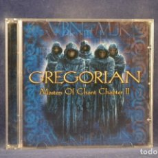 CDs de Música: GREGORIAN ‎- MASTERS OF CHANT CHAPTER II - CD. Lote 254143420