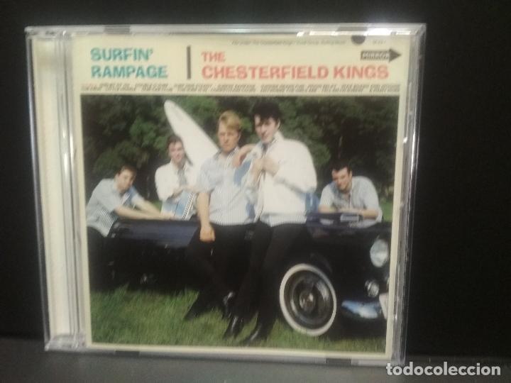 THE CHESTERFIELD KINGS SURFIN' RAMPAGE CD USA 1997 PEPETO TOP (Música - CD's Otros Estilos)