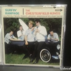CDs de Música: THE CHESTERFIELD KINGS SURFIN' RAMPAGE CD USA 1997 PEPETO TOP. Lote 254154310