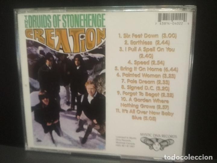 CDs de Música: CREATION THE DRUIDS OF STONEHENGE CD CANADA 1997 Pepeto Top - Foto 2 - 254155275