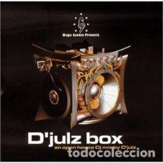 CDs de Música: CD D'JULZ - MAGIC GARDEN PRESENTS D'JULZ BOX - AFTERHOURS - SHR-1005 - US(EX++/EX++). Lote 254178345