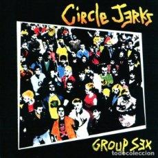 CDs de Música: CIRCLE JERKS - GROUP SEX - CD. Lote 254223550
