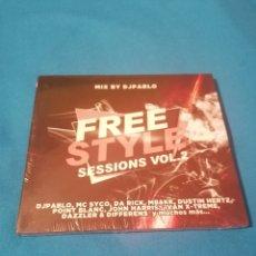 CDs de Música: FREE STYLE SESSIONS VOL.2 CD NUEVO. Lote 254227215