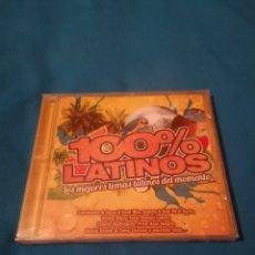 CDs de Música: 100% LATINOS CD PRECINTADO. Lote 254228130