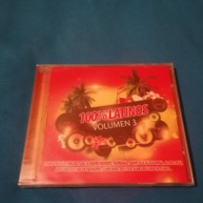 CDs de Música: 100% LATINOS VOLUMEN 3 CD PRECINTADO. Lote 254228465