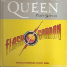 CD di Musica: QUEEN - FLASH GORDON (CD + LIBRETO 30 PAG. EDICIONES PRIMERA PLANA 2008). Lote 254266780