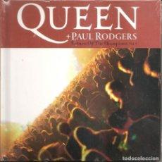 CDs de Música: QUEEN + PAUL RODGERS - RETURN OF THE CHAMPIONS 1 (CD + LIBRETO 30 PAG. EDICIONES PRIMERA PLANA 2008). Lote 254267350