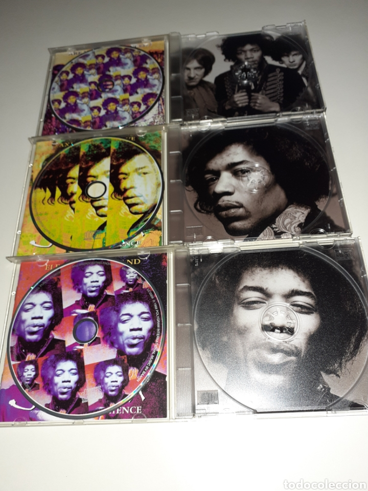 CDs de Música: Hendrix, Axis, ladyland, are you experienced, lote 3cd - Foto 2 - 254276780