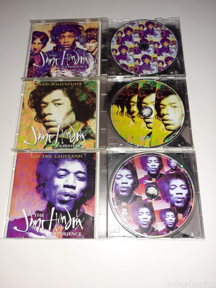 CDs de Música: Hendrix, Axis, ladyland, are you experienced, lote 3cd - Foto 4 - 254276780