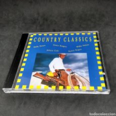 CDs de Música: COUNTRY CLASSICS - DOLLY PARTON - JOHNNY CASH - WILLIE NELSON - VARIOS - CD- 1992. Lote 254146990
