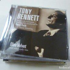 CDs de Música: TONY BENNETT - BLUE VELVET - CD - C 6 .. Lote 254317310