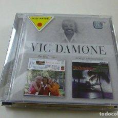 CDs de Música: VIC DAMONE: THE LIVELY ONES/STRANGE ENCHANTMENT (2-ÁLBUMS-EN-1-CD)- C 6. Lote 254317420