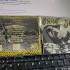 CDs de Música: ENAC SKA CD INCULTURA SKA DE CANARIAS 1996 ESCUCHADO RAREZA. Lote 254352870